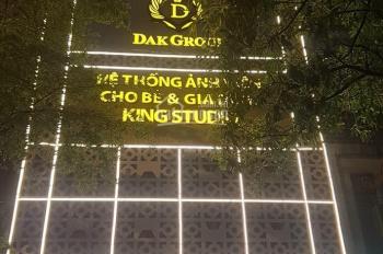 Bán nhà mặt phố Trần Khát Chân, 40m2 x 5 tầng, mặt tiền 6,5m, kinh doanh, vỉa hè rộng, giá 11 tỷ