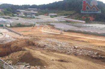 đất bằng phẳng, diện tích rộng không bị hầm hụt nằm ngay làng hoa Vạn Thành