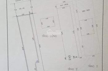 Bán nhà 2 tầng mặt tiền đường Lê Duẩn, Thanh Khê, Đà Nẵng