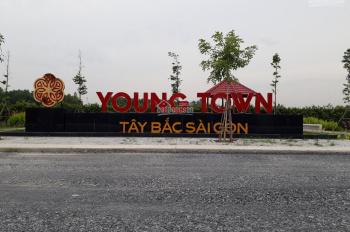 Young Town Tây Bắc Sài Gòn - LK Vingroup Đức Hòa, giá 700tr/nền nhà phố vườn HĐ hỗ trợ, 0908490828