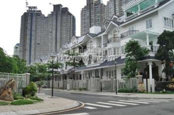 Cho thuê biệt thự Quận Bình Thạnh Saigon Pearl, DTSD 450m2 1 hầm 4 lầu