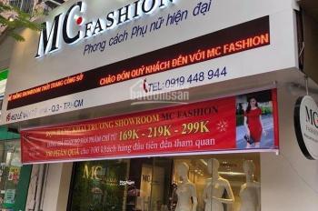 Cho thuê nhà mặt phố Lê Văn Sỹ, Q3 300m2 có 85tr/th