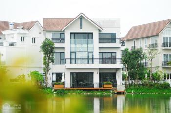 Bán gấp BT Hoa Lan, 290.5m2, 19.6 tỷ, để lại nội thất, view ngã 3 sông đẹp hơn biệt thự đảo Ecopark
