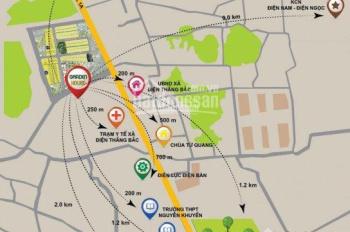 Đất tái định cư Điện Thắng 50m ra QL1A sát chợ mới Ba Xã dân cư hiện hữu đã có sổ LH:0935 066 058