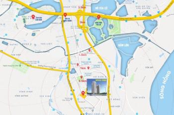 Cho thuê TTTM tầng 1, 2 dự án Tecco Tứ Hiệp, Thanh Trì, làm showroom, nhà hàng, gym, yoga, 1500m2