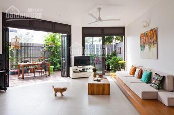 Cho thuê nhà đường 34, Bình An, DT 8x20m 1 hầm 3 lầu 5 phòng full nội thất giá 45 triệu/tháng