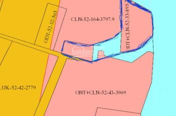 Bán đất bờ sông, 1500m2 tại Phường Hiệp Hòa, có thổ cư gần cầu An Hảo