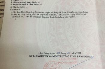 Chính chủ bán gấp 1.3 ha đất xã Lộc Thành, Bảo Lâm, Lâm Đồng. Đất đang trồng mít, LH 0913912566