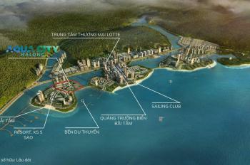 Bán shoptel hướng vịnh Hạ Long thuộc dự án Aqua City Hạ Long, Quảng Ninh