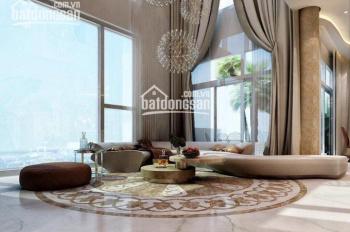 Cho thuê căn hộ penthouse Vinhome Central Park, DT 300m2, 3PN nội thất Châu Âu, LH 0977771919