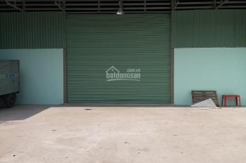 Cho thuê nhà xưởng mới xây dựng xong 530m2 giá 23tr/tháng tại ngã tư Ga, Phường Thạnh Lộc Quận 12
