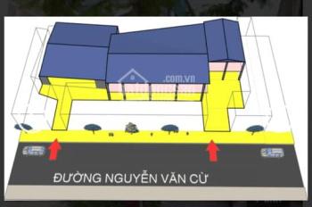Cho thuê MP Nguyễn Văn Cừ Long Biên, Hà Nội DT 550m2x2T, giá 80 triệu/tháng