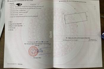 Cần bán đất đấu giá thôn Sở Đông, xã Long Hưng, huyện Văn Giang, tỉnh Hưng Yên