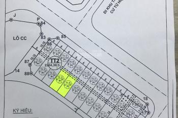 Bán cắt lỗ sâu 2 lô đất đấu giá TT2 Thanh Trì, giá thương lượng. LH 0941.834.204