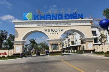 Verosa Park - dành trọn tâm huyết, kiến tạo tuyệt tác biệt thự nhà phố với đầy đủ tiện ích