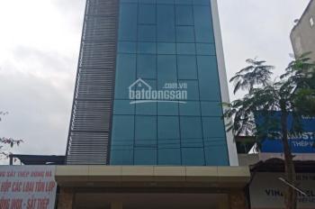 Cho thuê nhà mặt phố Nguyễn Ngọc Vũ, Cầu Giấy. DT 118m2, 8 tầng, MT 7m, giá 80tr/th