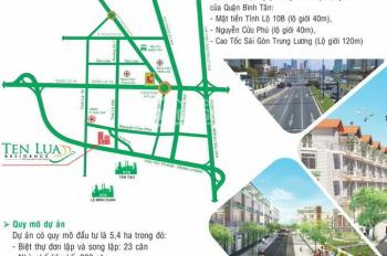 CĐT Hai Thành bán đất Tên Lửa Residence, KDC An Lạc - sổ hồng riêng giá 3,4 tỷ/nền. 0901755202