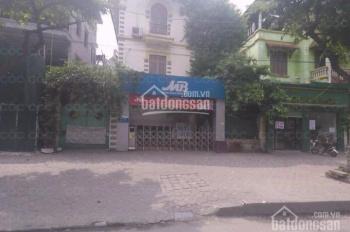 Cho thuê nhà mặt phố biệt thự Nguyễn Hữu Thọ, Linh Đàm 220m2 x 3 tầng mặt tiền 12m, 0917372925