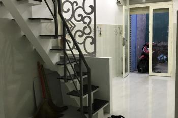 Cho thuê nhà HXH đường Lạc Long Quân, nhà xây mới, vô ở liền - 1 lầu, 2 phòng ngủ, 2 WC