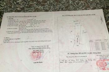 Chính chủ cần bán gấp mặt tiền QL 29, gần đầu đường Trần Hưng Đạo, KP. 2, TT Hòa Vinh, H. Đông Hòa