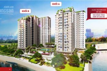 Bán căn hộ Conic Riverside, mặt tiền Tạ Quang Bửu Q8, căn 2 PN chênh lệch giá gốc 70 triệu