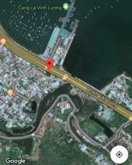 Vị trí đất vàng mặt đường Phạm Văn Đồng đối diện cảng cá Vĩnh Lương