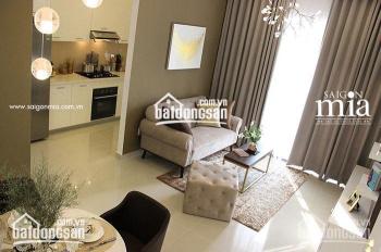 Khách kẹt tiền cần bán gấp Sài Gòn Mia căn 2PN, giá 2.750 tỷ view thoáng mát LH: 0939720039