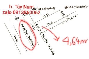 Bán nhà mặt tiền Phan Thanh Giản, Bình Đức 2, Lái Thiêu, Thuận An. Nhà mới 1 trệt 1 lầu, giá 4.8 tỷ