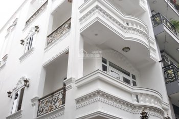 Cho thuê nhà mặt tiền Trường Sa, P2, Phú Nhuận. 6m*8m, DTSD 250m2, trệt, 4 lầu, 55tr/tháng