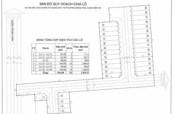 Lô đất nền tái định cư Phương Khê - Đồng Hòa, chỉ 16.5 tr/m2