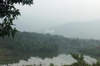 Cần chuyển nhượng lô đất 3600m2 đã có tường bao xung quanh views mặt hồ tại Cư Yên, Lương Sơn, HB