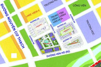 Bán nhà phố, shophouse Lakeview Thủ Thiêm, giá từ 22 tỷ - 60 tỷ, hầm + 4 lầu