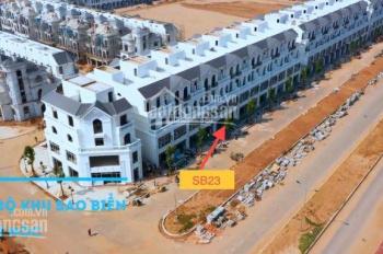 Cần bán căn Vinhomes Ocean Park SB23 mặt đường 40m, DT 67,8m2, giá 7,2 tỷ, liên hệ 083.86.89.007