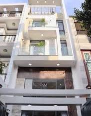 Bán nhà mặt tiền Thích Quảng Đức, P4, Quận Phú Nhuận. DT: 4x16m, xây 4 tầng, giá 15.9 tỷ