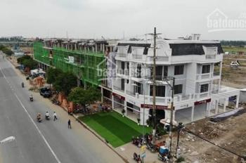 Bán dãy nhà phố shophouse, DT 100m2 1T 3 lầu, mặt tiền Trần Đại Nghĩa, xã Lê Minh Xuân, Bình Chánh