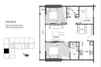 Chính chủ bán căn hộ 9 - 10 tầng 16 dự án An Bình Plaza 97 Trần Bình, liên hệ 0948669379