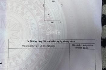 Bán đất Văn Cao, ngõ 34/379 Đội Cấn, Cống Vị, 38.5m2, MT 3.64m, giá 4.2 tỷ