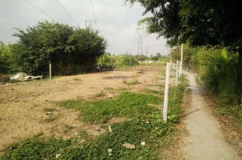 Bán đất gần chợ Tam Long - 28m x 11m, DT 300m2 có 100m2 thổ cư, giá rẻ - khu trung tâm hành chính