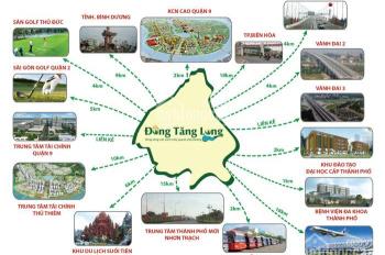 Đất nền khu đô thị mới Đông Tăng Long Q9, gần chợ, công viên, giá 2.5 tỷ nền 100m2, LH 0903.616491