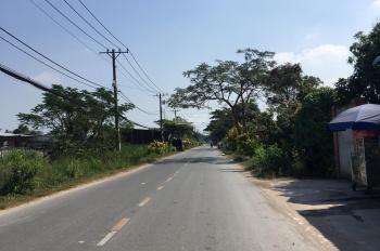 Đất mặt tiền đường liên xã Cây Trôm Mỹ Khánh A  Thái Mỹ