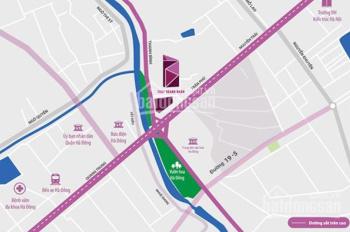 Mở bán đợt cuối chung cư Tháp doanh nhân, DT 45m2 giá bán 900tr/căn, LH 0986.324.253