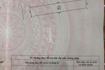 Chính chủ bán lô đất số 9 dự án phân lô ô tô vào 268/21/55 Ngọc Thụy, Long Biên 100m2 giá 86 tr/m2