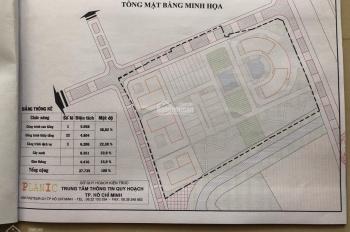 Cần sang nhượng lô đất DT 51.500m2 được phép làm KDC cao tầng