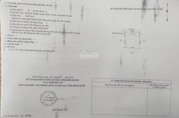 BÁN ĐẤT CHÍNH CHỦ_MINH THÀNH_CHƠN THÀNH_SHR_1000M2/GIÁ 500TR_CÔNG CHỨNG SANG TÊN NGAY_0909.817.958