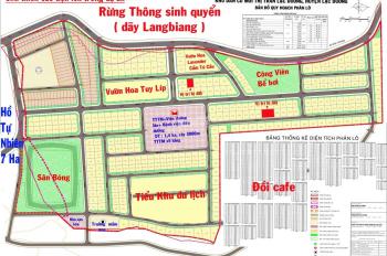 0938 123 001 bán đất nền dự án biệt thự LangBiang Town, huyện Lạc Dương - Đà Lạt
