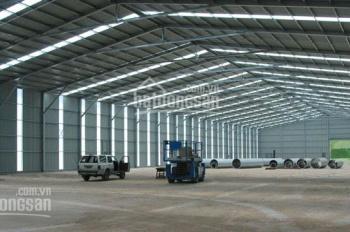 Cho thuê kho xưởng siêu đẹp tại đường Phạm Hùng, xe container tránh nhau - DT: 200m2