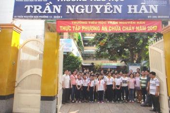 Bán nhà mặt tiền Trần Nguyên Hãn, quận 8, ngay cầu Chà Và, 3,9 x 18,5m