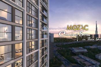 """Nhận giữ chỗ căn hộ cao cấp """"Mozac"""" Thảo Điền, DT 43 - 154m2, giá 74 triệu/m2"""