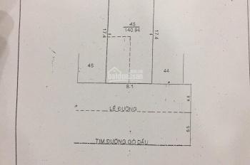 Bán nhà MT đường Gò Dầu, Q. Tân Phú, 8,1x17,5m, 1 trệt, 2 lầu. Giá 23,5 tỷ TL, LH: 0902.773.858