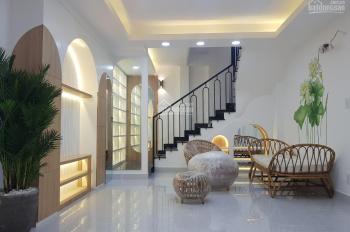 Cho thuê MB CHDV hẻm HXH số 7 Nguyễn Trãi Q1 DT: 4x20m nhà 6 tầng Khu tây cao cấp giá: 35tr/th